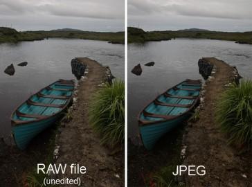 RAW در مقابل JPEG - کدام فرمت تصویر بهتر است و چرا
