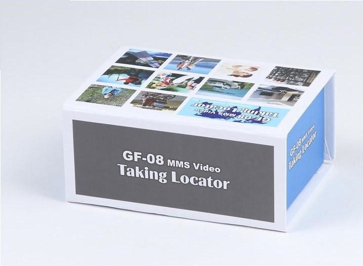 ردیاب دوربین دار کوچک GPS مدل GF-08 با قابلیت فیلمبرداری و ردیابی