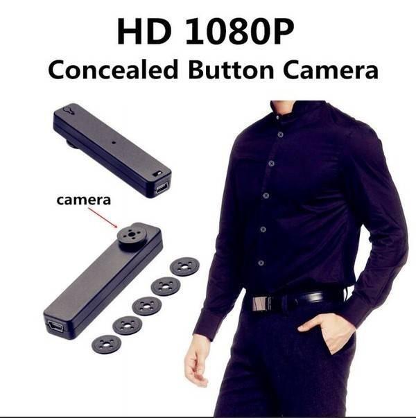 دوربین دکمه ای HD (کوچک و مخفی)