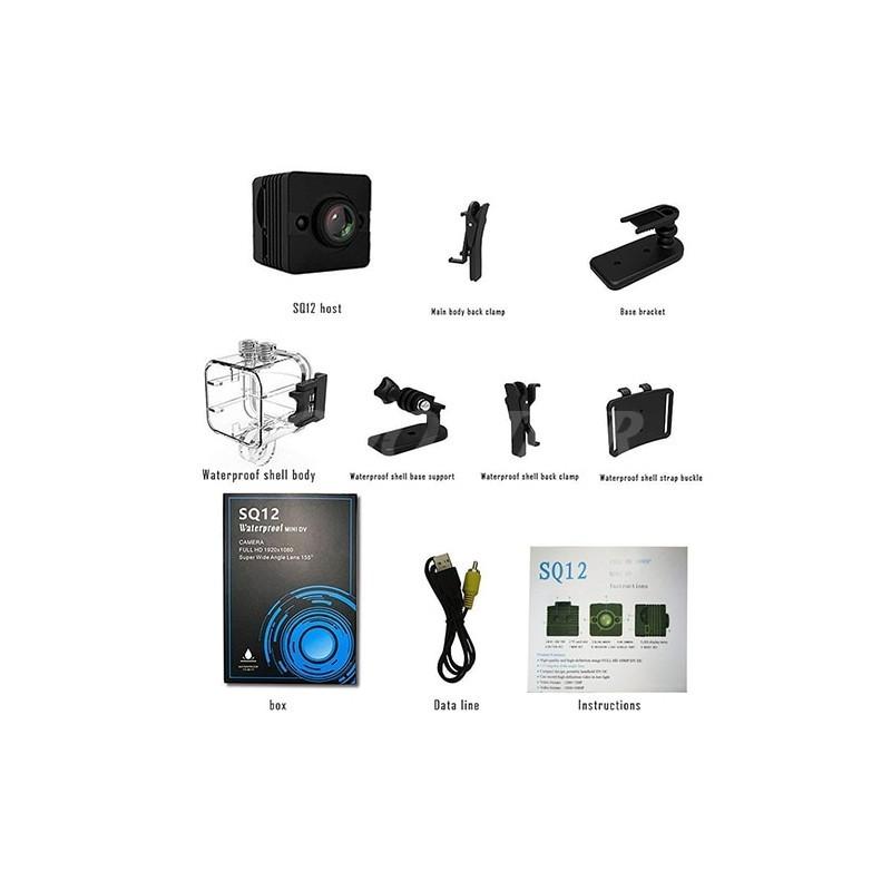 دوربین مینی SQ12 (ورزشی - مراقبتی - مخفی - ارزان)
