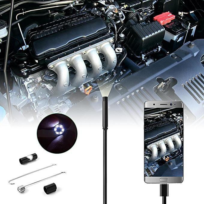 دوربین شلنگی آندوسکوپی (Endoscope) موبایل و رایانه (آندوسکوپ ضد آب و لرزش)