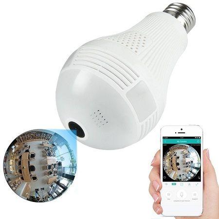 دوربین لامپی مخفی مکالمه ۲ طرفه