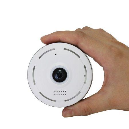 دوربین کوچک بیسیم مدل v380 پانوراما با قابلیت مکالمه ۲ طرفه