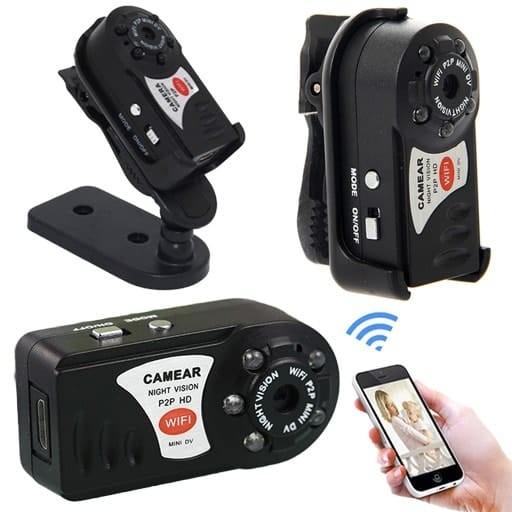دوربین مینی دی وی Q7 Wifi وای فای