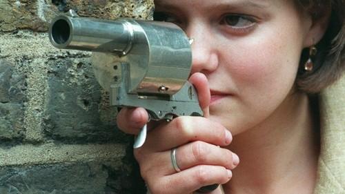 دوربین ریز و جاسوسی داخل تفنگ الکی
