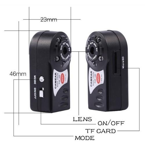 Q7 Wifi Mini Dv Camera