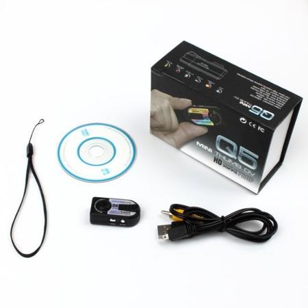 محتویات دوربین Q5 Mini Dv