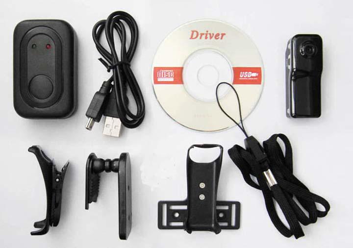محتویات داخل بسته دوربین MD80