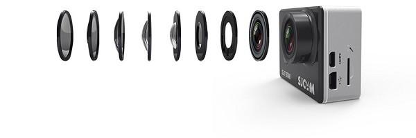 لنز دوربین ورزشی sj7 sjcam