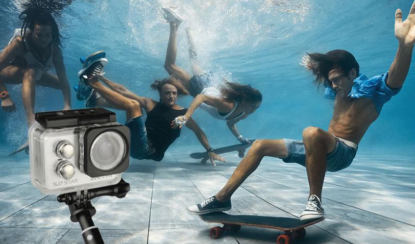 دوربین ورزشی ضد آب sj7 sjcam