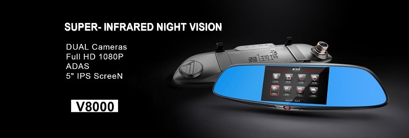 دوربین خودرو،آیینه دوربین FIRSTSCENE V8000