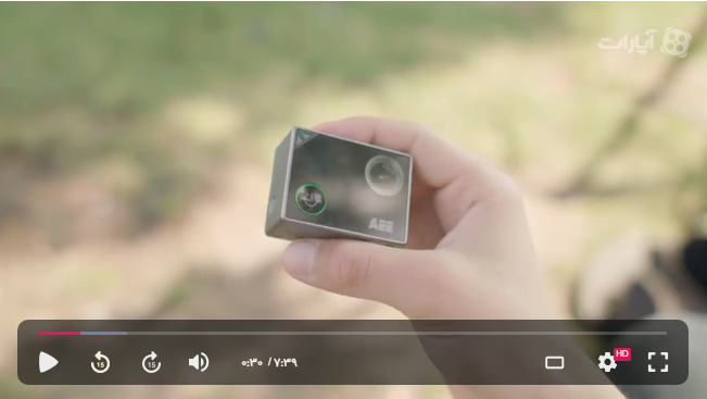 راهنمای استفاده از دوربین AEE LIFE TITAN