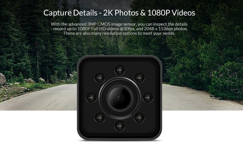 دوربین بندانگشتی SQ13،دوربین ورزشی SQ13،دوربین ریز SQ13