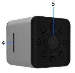 دوربین بندانگشتی SQ11 ،راهنمای استفاده