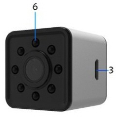 دوربین بندانگشتی SQ13 ،دوربین ریز و کوچک