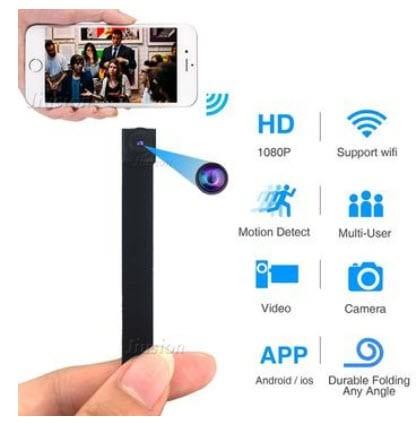 دوربین 1080P Button Spy Cam