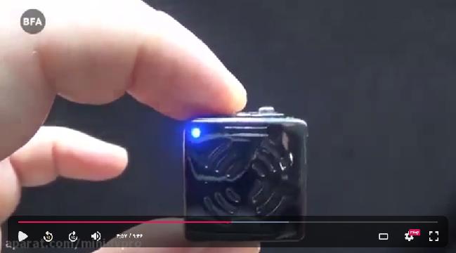 ویدیو راهنمای استفاده از دوربین مینی دی وی SQ8