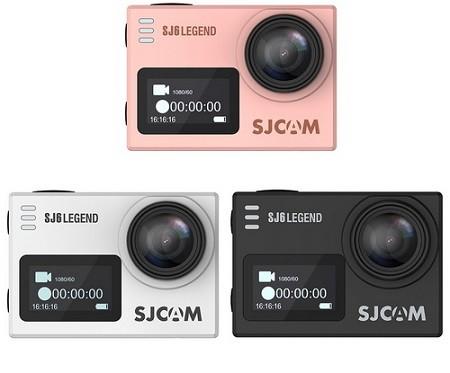 چند رنگ از دوربین ورزشی Sj6