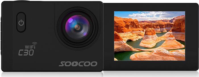 نمایشگر تصویر دوربین ورزشی soocoo c30