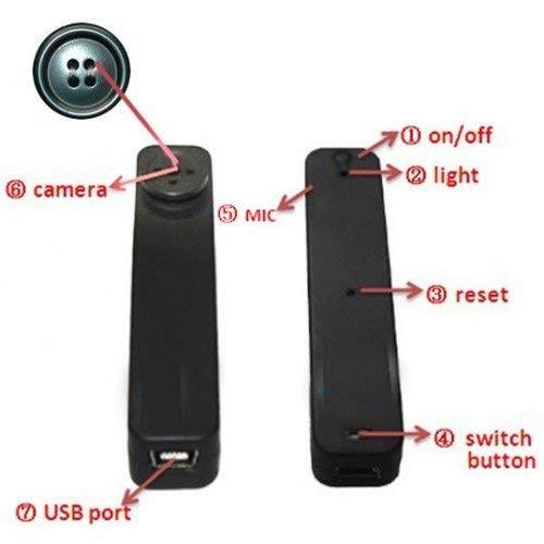 نحوه استفاده از دوربین دکمه ای ، بسیار ساده و آسان