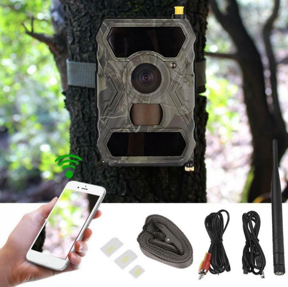 دوربین ورزشی Trail Camera با لنزی با قدرت فیلمبرداری Blu -Ray