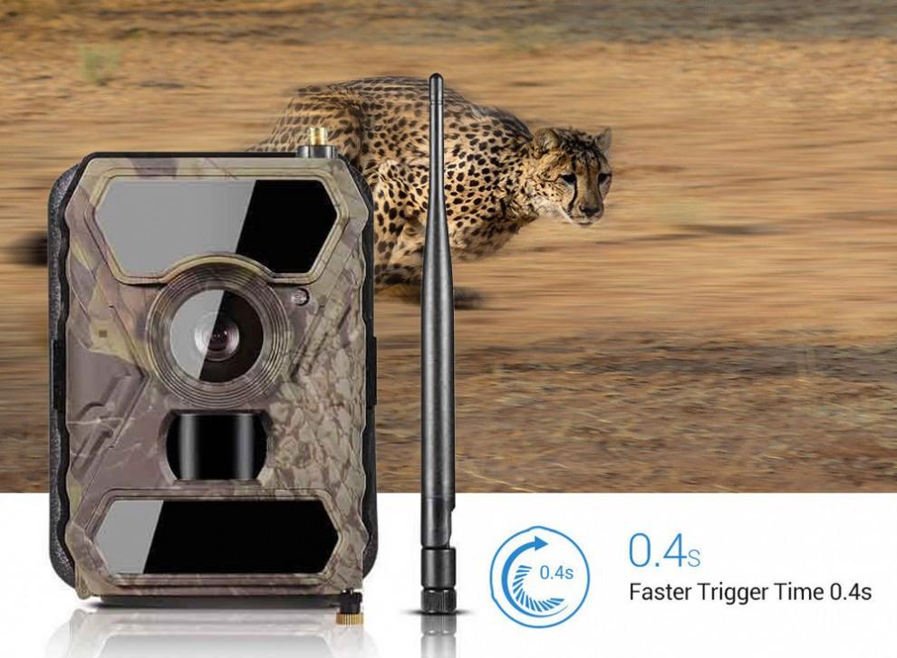 دوربین ورزشی Trail Camera با قابلیت فیلمبرداری به صورت اسلوموشن