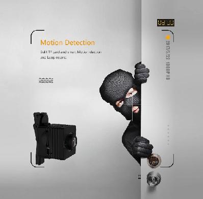 تشخیص حرکت دوربین Sq12