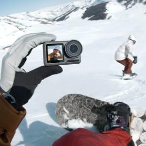 دوربین ورزشی با قابلیت ویس کنترلر