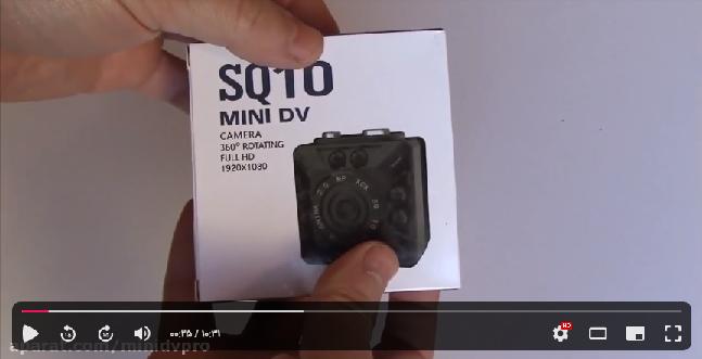 راهنمای ویدیویی استفاده از دوربین Sq10