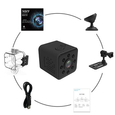 دوربین SQ23 وای فای ،ضد آب دارای لوازم جانبی بسیار گسترده