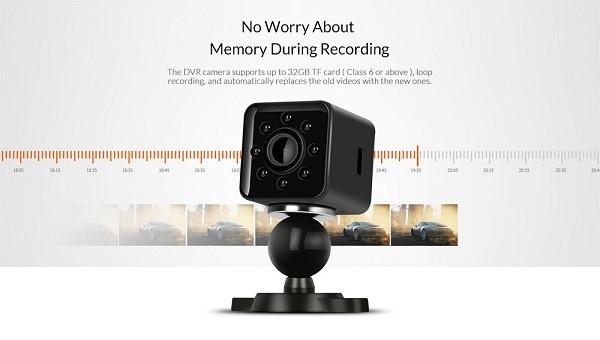 قابلیت ضبط حلقه ای دوربین Sq23