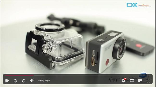 ویدیوی آموزشی دوربین اسپرت WDV5000