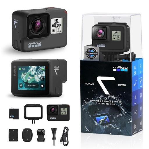 دوربینورزشی GoPro HERO 7 Black پرچمدار دوربین های ورزشی GoPro در مقاله برترین دوربین های ورزشی سال 2020 از مینی دی وی پرو