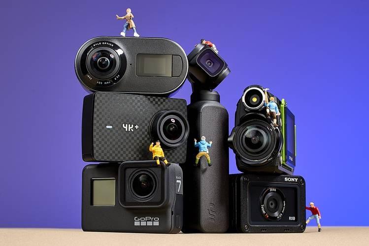 مقایسه کلی دو برند دوربین های ورزشی SJ CAM V.S GOPro قدم به قدم در سال 2020 توسط تیم فنی مینی دی وی پرو