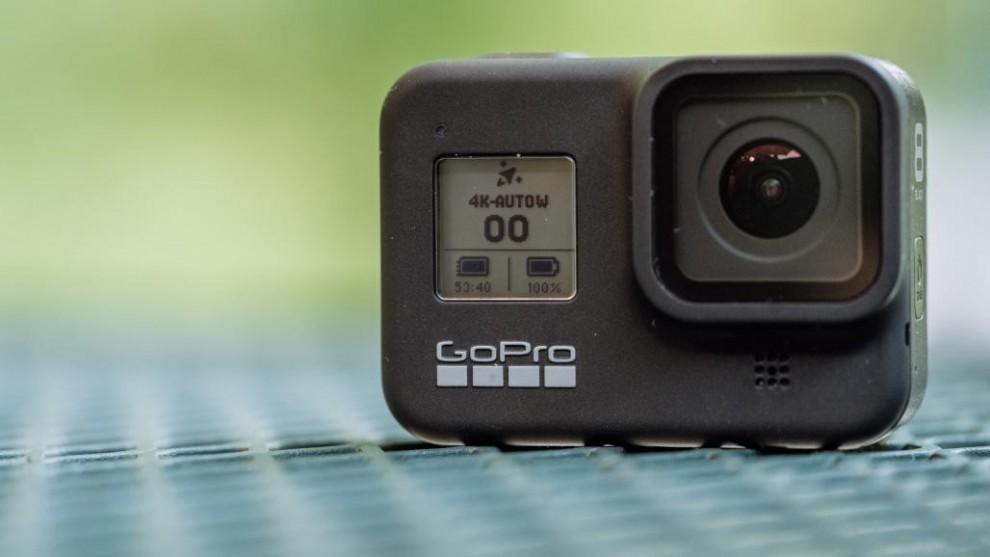 GoPro Hero 8 Black اولین دوربین در لیست برترین دوربین های ورزشی سال 2020 از مینی دی وی پرو