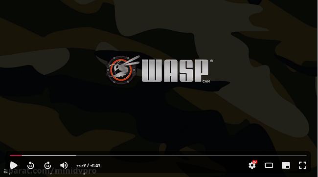 راهنمای ویدیویی استفاده از دوربین waspcam 9906 camo