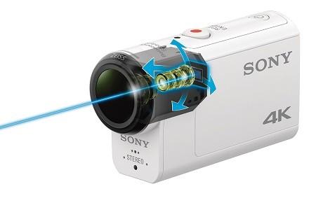 لرزش گیر حرفه ای دوربین ورزشی sony hdras300