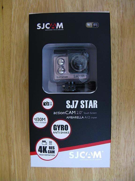 دوربین ورزشی SJ CAM SJ7 Star ششمین دوربین از مقاله بهترین دوربین های ورزشی سال 2020 از مینی دی وی پرو