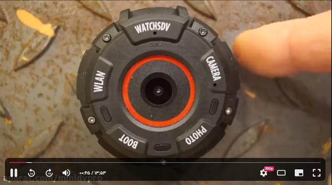 راهنمای استفاده از دوربین ورزشی ZGPAX S222