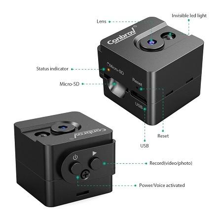 راهنمای استفاده از دوربین Conbrov Mini T16