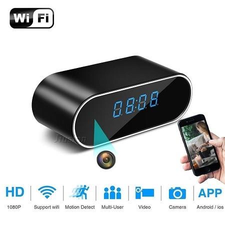 دوربین ساعت رومیزی با وای فای - clock wifi camera