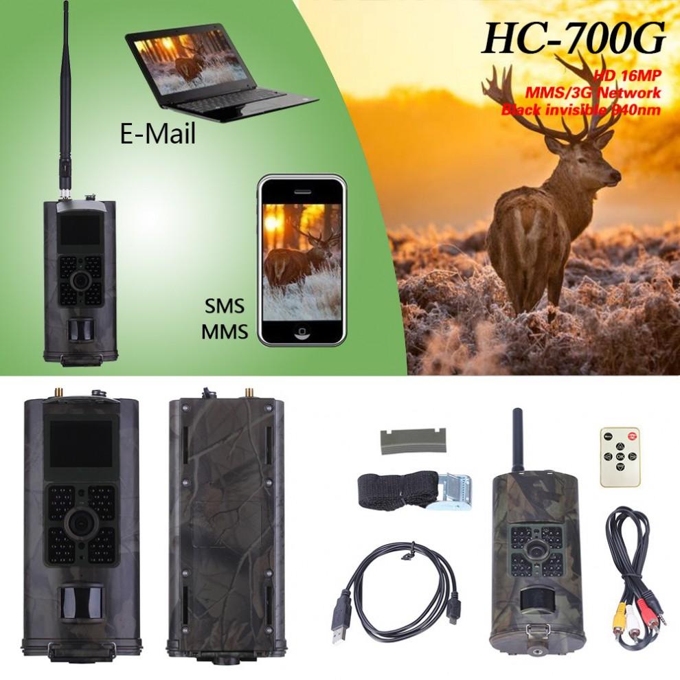 HC-700M/HC-700G 2G/3G SMS GSM Trail Camera