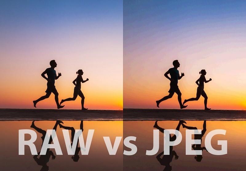 عکس RAW در مقابل عکس JPEG