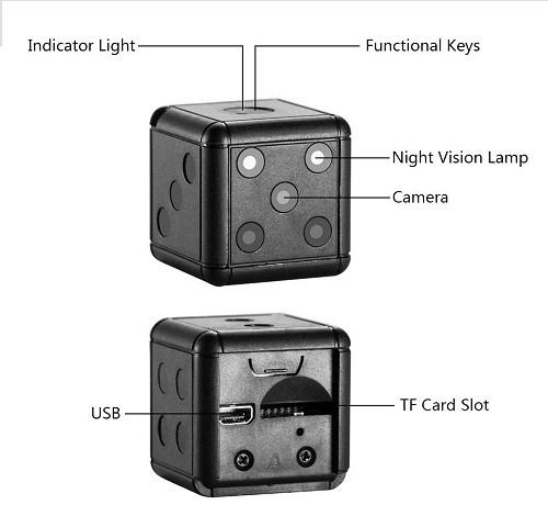 راهنمای استفاده از دوربین مخفی و کوچک SQ16