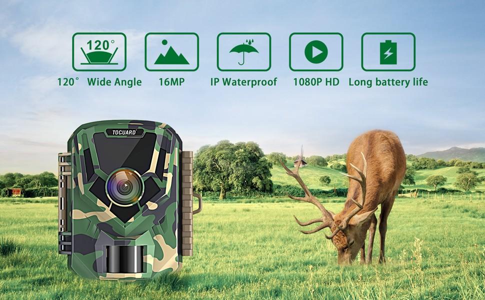 دوربین کوچک حیات وحش و مستند سازی TOGUARD