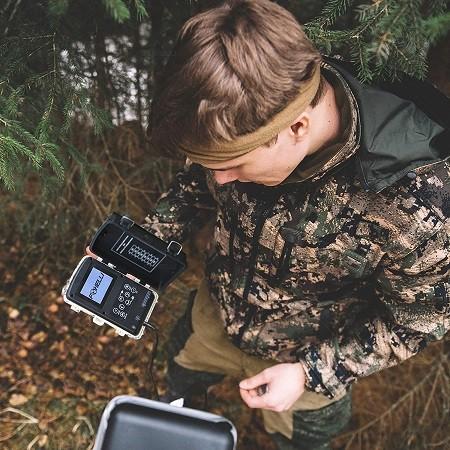 دوربین شکاری حیات وحش مستند سازی Foxelli Trail Camera