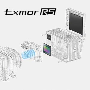 سنسور Exmor RS CMOS با نور پس زمینه