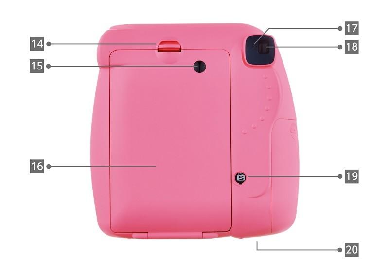 مشخصات فنی دوربین instaz mini9