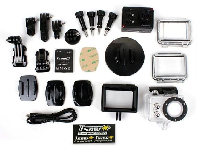 لوازم جانبی گسترده دوربین ورزشی Isaw