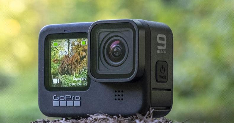 طراحی ویژه دوربین ورزشی gopro hero 9
